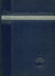 Stonington High School - Pawmystonian Yearbook (Pawcatuck, CT) online yearbook collection, 1940 Edition, Page 1