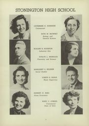 Page 12, 1945 Edition, Stonington High School - Pawmystonian Yearbook (Pawcatuck, CT) online yearbook collection