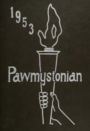 1953 Edition, Stonington High School - Pawmystonian Yearbook (Pawcatuck, CT)