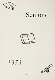 Page 10, 1953 Edition, Stonington High School - Pawmystonian Yearbook (Pawcatuck, CT) online yearbook collection