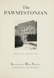 Page 5, 1953 Edition, Stonington High School - Pawmystonian Yearbook (Pawcatuck, CT) online yearbook collection
