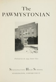 Page 5, 1954 Edition, Stonington High School - Pawmystonian Yearbook (Pawcatuck, CT) online yearbook collection