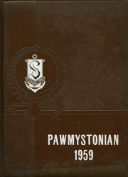1959 Edition, Stonington High School - Pawmystonian Yearbook (Pawcatuck, CT)