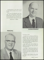 Page 9, 1957 Edition, Terryville High School - Orange and Black Yearbook (Terryville, CT) online yearbook collection