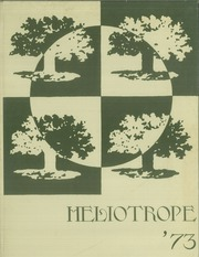1973 Edition, Weston High School - Heliotrope Yearbook (Weston, CT)