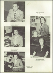Page 14, 1952 Edition, Stafford Springs High School - Torch Yearbook (Stafford Springs, CT) online yearbook collection