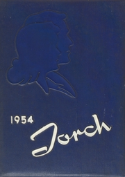 1954 Edition, Stafford Springs High School - Torch Yearbook (Stafford Springs, CT)