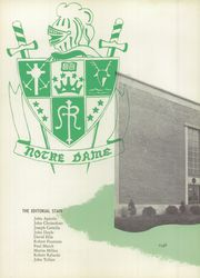 Page 6, 1956 Edition, Notre Dame High School - Shield Yearbook (West Haven, CT) online yearbook collection