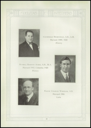 Page 16, 1929 Edition, Choate Rosemary Hall High School - Brief Yearbook (Wallingford, CT) online yearbook collection