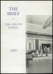 Page 6, 1950 Edition, Choate Rosemary Hall High School - Brief Yearbook (Wallingford, CT) online yearbook collection