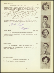 Page 13, 1950 Edition, Canton High School - Echo Yearbook (Canton, CT) online yearbook collection