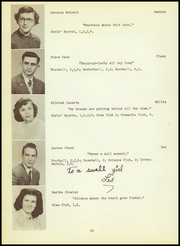 Page 14, 1950 Edition, Canton High School - Echo Yearbook (Canton, CT) online yearbook collection