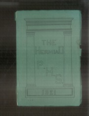 Plainfield High School - Hermiad Yearbook (Central Village, CT) online yearbook collection, 1921 Edition, Page 1
