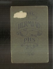 1924 Edition, Plainfield High School - Hermiad Yearbook (Central Village, CT)