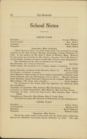 Page 26, 1924 Edition, Plainfield High School - Hermiad Yearbook (Central Village, CT) online yearbook collection