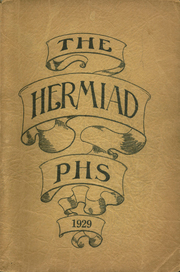 Plainfield High School - Hermiad Yearbook (Central Village, CT) online yearbook collection, 1929 Edition, Page 1
