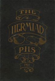 1931 Edition, Plainfield High School - Hermiad Yearbook (Central Village, CT)