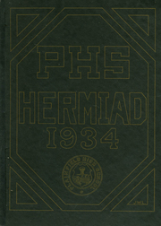 1934 Edition, Plainfield High School - Hermiad Yearbook (Central Village, CT)
