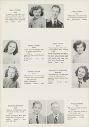 Page 14, 1948 Edition, Woodrow Wilson High School - Saga Yearbook (Middletown, CT) online yearbook collection