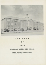 Page 7, 1948 Edition, Woodrow Wilson High School - Saga Yearbook (Middletown, CT) online yearbook collection