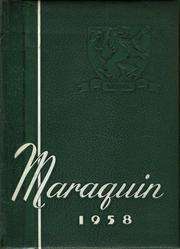 1958 Edition, St Thomas Aquinas High School - Maraquin Yearbook (New Britain, CT)