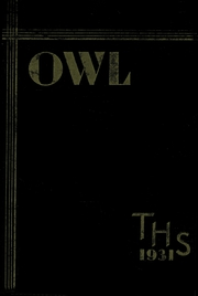 1931 Edition, Thomaston High School - Owl Yearbook (Thomaston, CT)