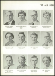 Page 10, 1956 Edition, Griswold High School - Sentinel Yearbook (Griswold, CT) online yearbook collection
