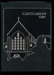 1987 Edition, Canterbury School - Cantuarian Yearbook (New Milford, CT)
