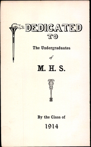 Page 10, 1914 Edition, Meriden High School - Annual Yearbook (Meriden, CT) online yearbook collection