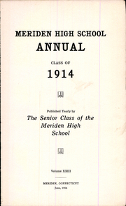 Page 7, 1914 Edition, Meriden High School - Annual Yearbook (Meriden, CT) online yearbook collection
