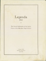 Page 5, 1922 Edition, Meriden High School - Annual Yearbook (Meriden, CT) online yearbook collection