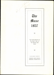 Page 5, 1927 Edition, Meriden High School - Annual Yearbook (Meriden, CT) online yearbook collection