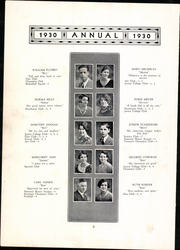 Page 12, 1930 Edition, Meriden High School - Annual Yearbook (Meriden, CT) online yearbook collection