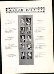 Page 13, 1930 Edition, Meriden High School - Annual Yearbook (Meriden, CT) online yearbook collection