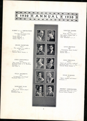 Page 14, 1930 Edition, Meriden High School - Annual Yearbook (Meriden, CT) online yearbook collection