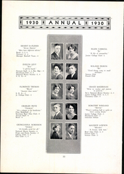 Page 16, 1930 Edition, Meriden High School - Annual Yearbook (Meriden, CT) online yearbook collection