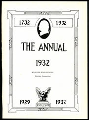 Page 5, 1932 Edition, Meriden High School - Annual Yearbook (Meriden, CT) online yearbook collection
