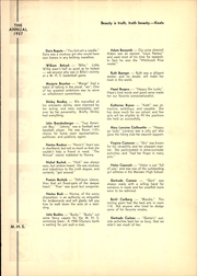 Page 15, 1937 Edition, Meriden High School - Annual Yearbook (Meriden, CT) online yearbook collection