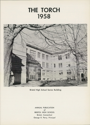Page 5, 1958 Edition, Bristol High School - Torch Yearbook (Bristol, CT) online yearbook collection
