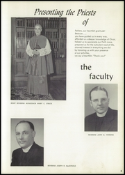 Page 9, 1959 Edition, Waterbury Catholic High School - Candle Yearbook (Waterbury, CT) online yearbook collection