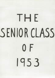Page 15, 1953 Edition, Westover School - Coagess Yearbook (Middlebury, CT) online yearbook collection