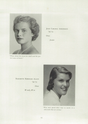 Page 17, 1953 Edition, Westover School - Coagess Yearbook (Middlebury, CT) online yearbook collection