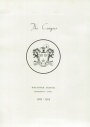 Page 7, 1953 Edition, Westover School - Coagess Yearbook (Middlebury, CT) online yearbook collection