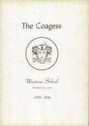 Page 7, 1956 Edition, Westover School - Coagess Yearbook (Middlebury, CT) online yearbook collection