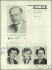 Page 12, 1945 Edition, Daycroft School - Milestone Yearbook (Greenwich, CT) online yearbook collection