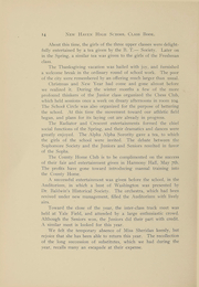Page 15, 1905 Edition, New Haven High School - Elm Tree Yearbook (New Haven, CT) online yearbook collection
