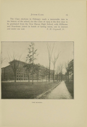 Page 16, 1905 Edition, New Haven High School - Elm Tree Yearbook (New Haven, CT) online yearbook collection