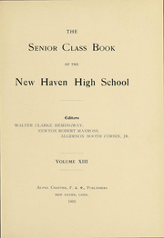 Page 4, 1905 Edition, New Haven High School - Elm Tree Yearbook (New Haven, CT) online yearbook collection