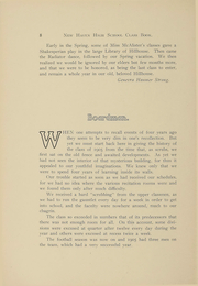 Page 9, 1905 Edition, New Haven High School - Elm Tree Yearbook (New Haven, CT) online yearbook collection