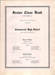 Page 11, 1922 Edition, New Haven High School - Elm Tree Yearbook (New Haven, CT) online yearbook collection